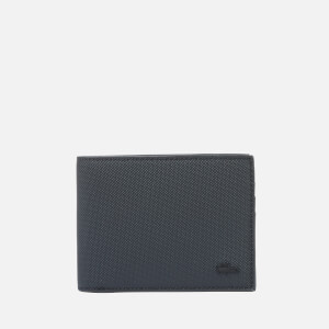 Lacoste Men's Billfold Wallet - Black