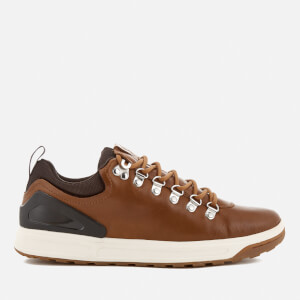 Polo Ralph Lauren Men's Adventure 100 Leather Hiking Trainers - Deep Saddle Tan
