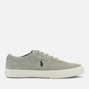 Polo Ralph Lauren Men's Tyrian Suede Vulcanised Trainers - New Glacier