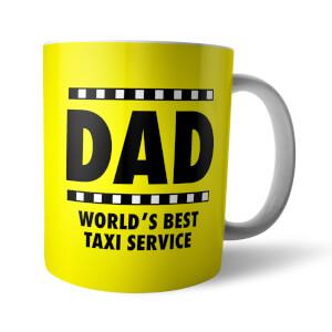 Tasse Dad World's Best Taxi Service