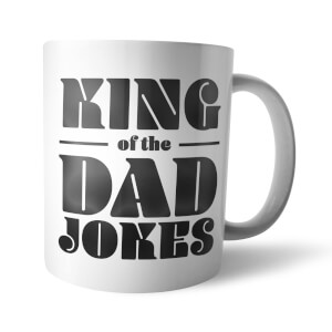 "Taza ""King Of The Dad Jokes"" - Blanco"