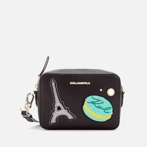 Karl Lagerfeld Women's K/Paris Camera Bag - Black