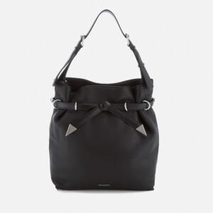 Karl Lagerfeld Women's K/Rocky Bow Drawstring Bag - Black