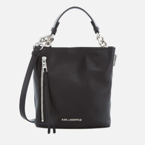 Karl Lagerfeld Women's K/Kool Mini Bucket Bag - Black
