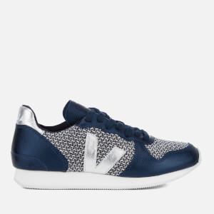 Veja Women's Holiday Runner Trainers - Blend Black/White Petrole