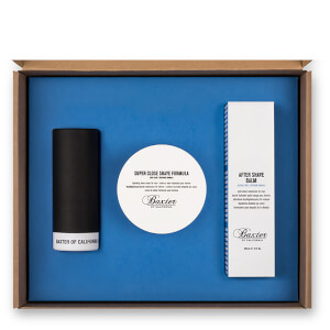 Baxter of California Shave Kit 1-2-3 (with Best Badger Brush)