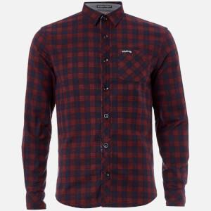 Tokyo Laundry Men's Glendale Flannel Long Sleeve Shirt - Red