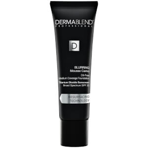 Dermablend Blurring Mousse Camo Foundation Make-Up with SPF25 for Oil-Free Medium to High Coverage - 55N Saffron