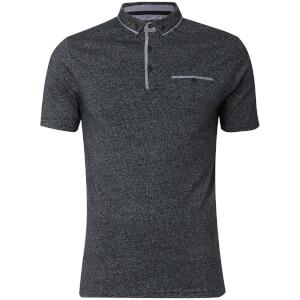 Dissident Men's Herald Polo Shirt - Black Fleck