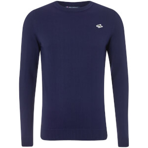 Le Shark Men's Calvin Crew Neck Jumper - Maritime Blue