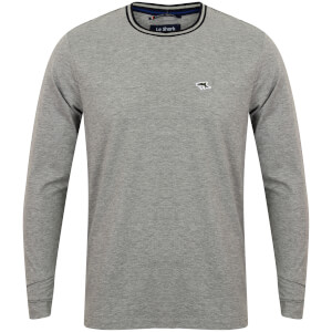 Le Shark Men's Highshore Long Sleeve Top - Light Grey Marl