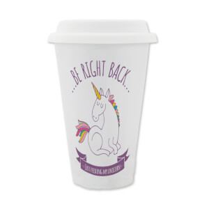 Be Right Back Feeding My Unicorn Travel Mug