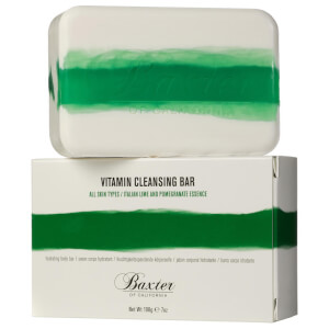 Baxter of California Vitamin Cleansing Bar Italian Lime Pomegranate 198g