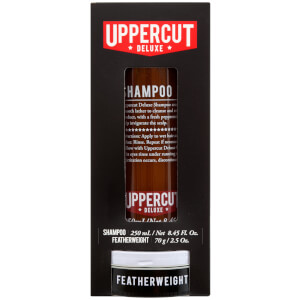 Uppercut Deluxe Shampoo and Featherwight Duo