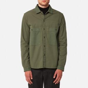 YMC Men's Doc Savage Shirt - Olive