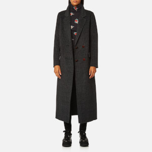 Ganni Women's Driggs Coat - Ebony Melange