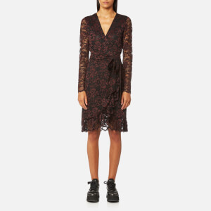 Ganni Women's Flynn Lace Dress - Black