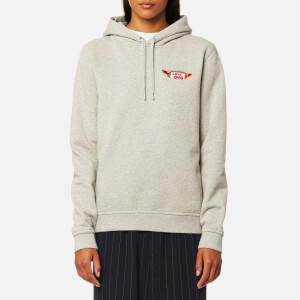 Ganni Women's Lott Isoli Hooded Sweatshirt - Paloma Melange