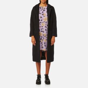 Ganni Women's Fenn Coat - Black