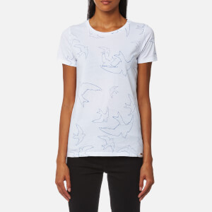 BOSS Orange Women's Bird T-Shirt - White