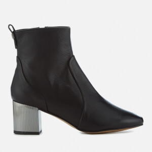 Carvela Women's Strudel Leather Heeled Ankle Boots - Black