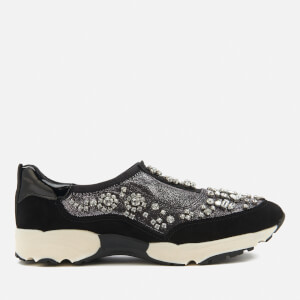 Carvela Women's Lighter Slip-On Runner Trainers - Gunmetal