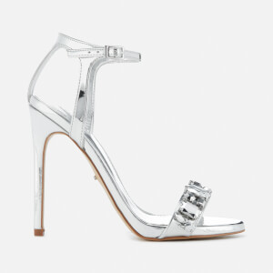 Carvela Women's Gail Barely There Heeled Sandals - Silver