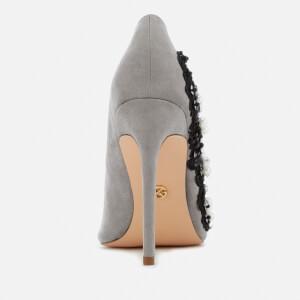 KG Kurt Geiger Women's Bounty Embellished Side Court Shoes - Grey: Image 4