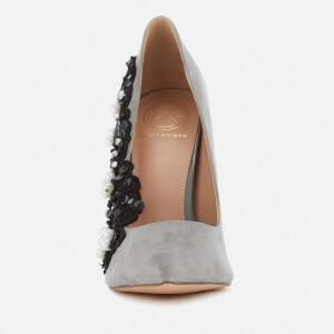 KG Kurt Geiger Women's Bounty Embellished Side Court Shoes - Grey: Image 3