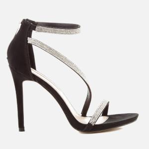 Miss KG Women's Dutchess Strappy Heeled Sandals - Black