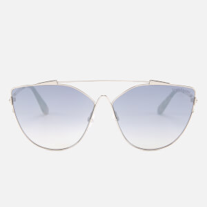Tom Ford Women's Jacquelyn Sunglasses - Shiny Rose Gold/Smoke Mirror