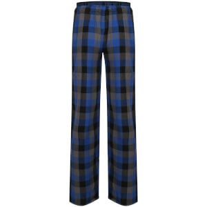Tokyo Laundry Men's Kenning Check Lounge Pants - Monaco Blue