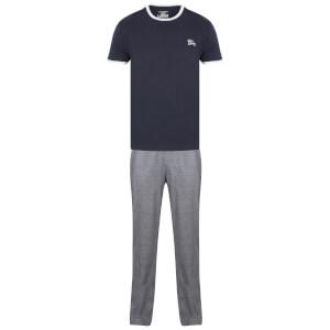 Tokyo Laundry Men's Ivor Pyjama Set - Midnight Blue