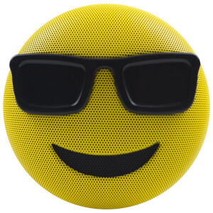 Jam Audio Jamoji Cool Emoji Portable Wireless Bluetooth Speaker
