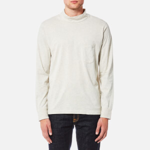 Universal Works Men's Long Sleeve Turtleneck Top - Sand Marl