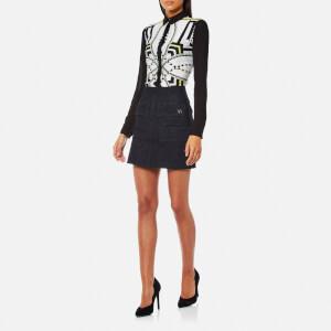 Versace Jeans Women's Skirt - Indigo: Image 3