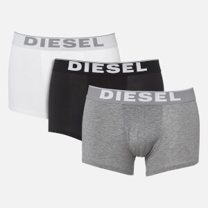Diesel Men's Kory 3 Pack Boxer Shorts - Black/Grey/White
