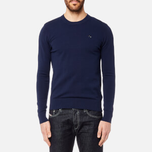 Diesel Men's Pablo Crew Neck Knitted Jumper - Blue