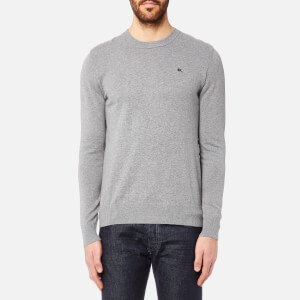 Diesel Men's Pablo Crew Neck Knitted Jumper - Grey