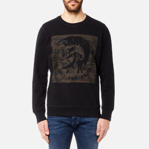 Diesel Men's Joe Logo Sweatshirt - Black