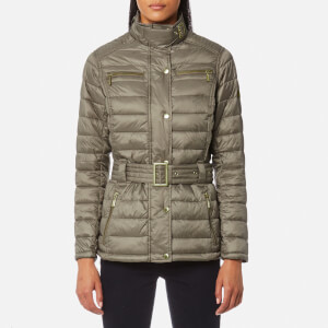 Barbour International Women's Cadwell Quilt Coat - Taupe