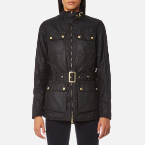Barbour International Women's Heyford Wax Jacket - Black