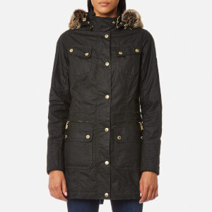Barbour International Women's Mallory Wax Jacket - Sage
