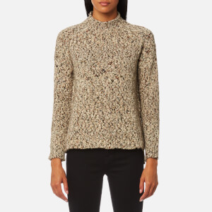 Barbour Heritage Women's Jane High Neck Jumper - Mist