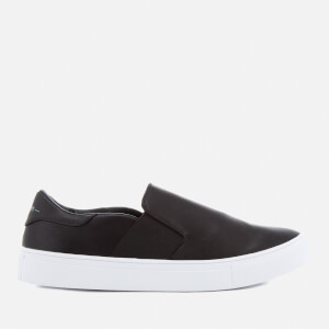 Superdry Women's Manhattan Luxe Slip On Trainers - Black