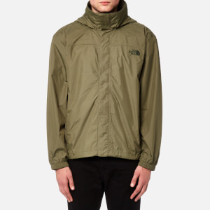 The North Face Men's Resolve Jacket - Burnt Olive Green/New Taupe Green