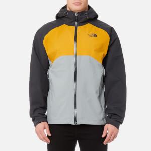 The North Face Men's Stratos Jacket - Asphalt Grey/Arrowwood Yellow/Monument Grey