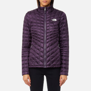The North Face Women's Thermoball® Zip In Jacket - Dark Eggplant Purple