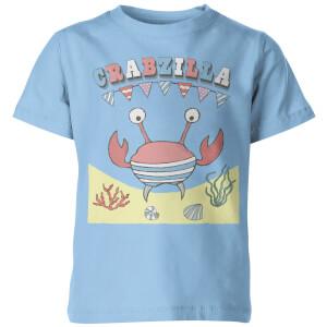 Crabzilla Kid's Blue T-Shirt
