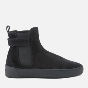 Android Homme Men's Sunset Suede Chelsea Boots - Black